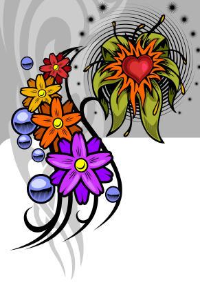 tattoo banner. Feet Tattoo