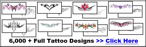 Lower Back Tattoo Designs