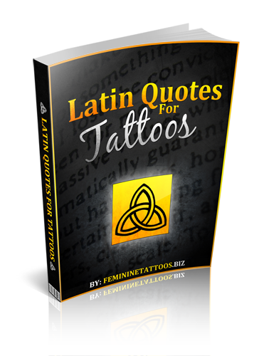 latin quotes for tattoos feminine tattoos. Black Bedroom Furniture Sets. Home Design Ideas